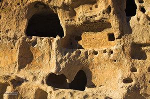 Gargoyle Wall, Bandalier NM