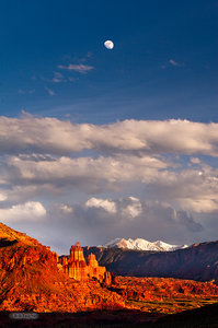 Moonrise, Fisher Towers