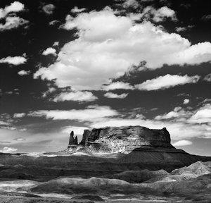 Round Rock & Clouds