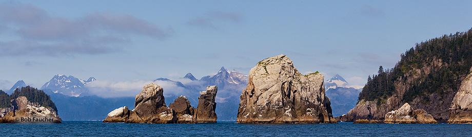 Aialik Cape,Aialik Bay,Harris Peninsula,Kenai,Fjords NP,Alaska, photo