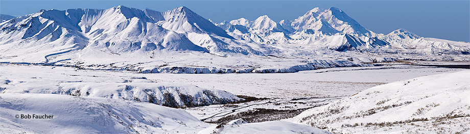 Denali NP,Alaska,Alaska Range,Muldrow Glacier Valley, photo