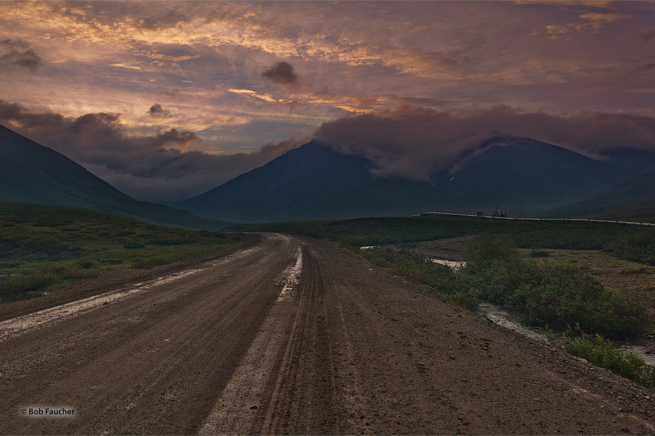 Atigun Pass,Dalton Hiway,Brooks Range,Alaska, photo