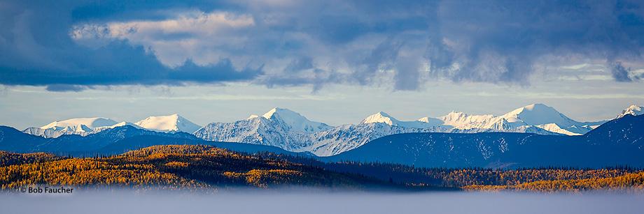 Alaska Range,Tetlin National Wildlife Refuge,Alaskan Hiway,Alaska, photo