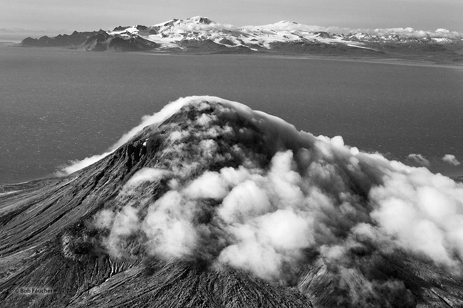 Augustine Island,volcano,Mt. Douglas,Cook Inlet,Alaska, photo