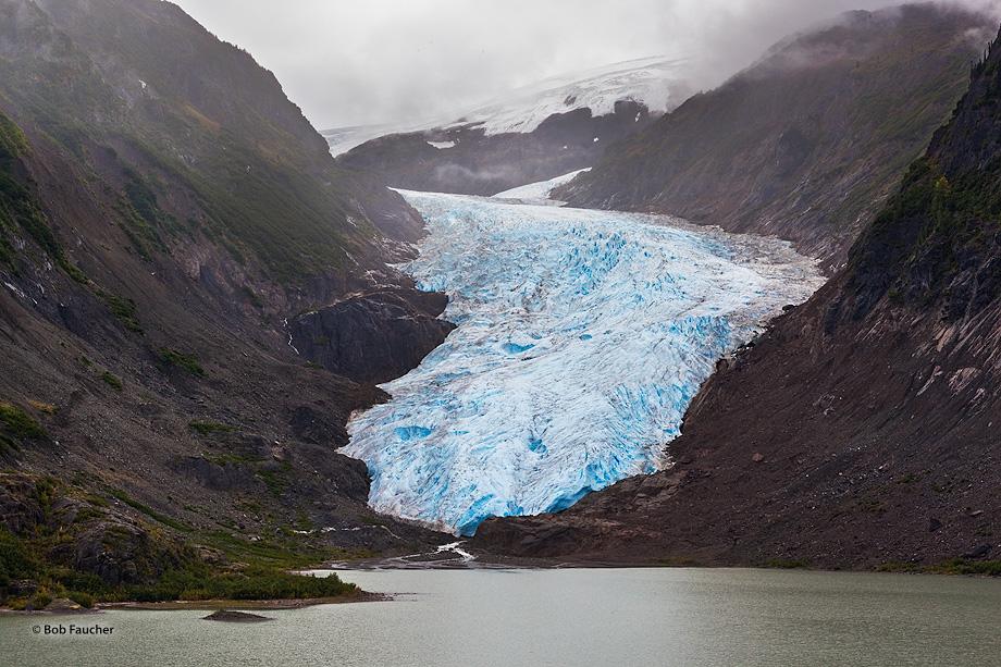 Bear Glacier,Stewart Hiway,B. C.,Canada, photo