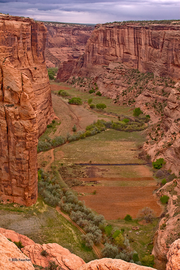 Canyon de Chelly,Antelope House overlook,morning, photo