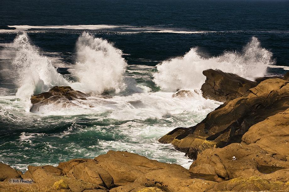 Oregon,coast,surf,clouds,Boiler Bay, photo