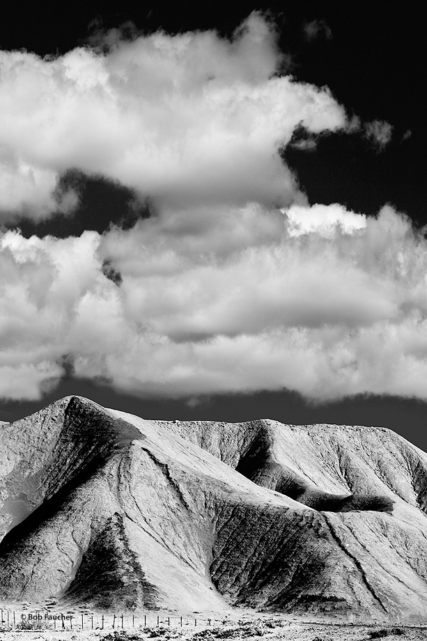 Book Cliffsfoothills,clouds,Utah, photo