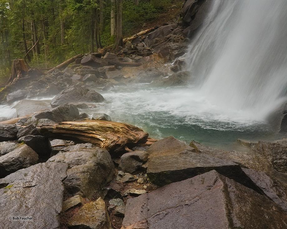 Bridal Veil Falls,pool, photo