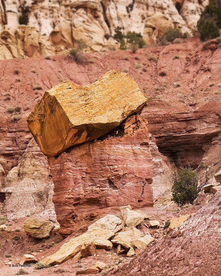 Caprock, or cap rock, is a harder or more resistant rock type overlying a weaker or less resistant rock type. Common types of...