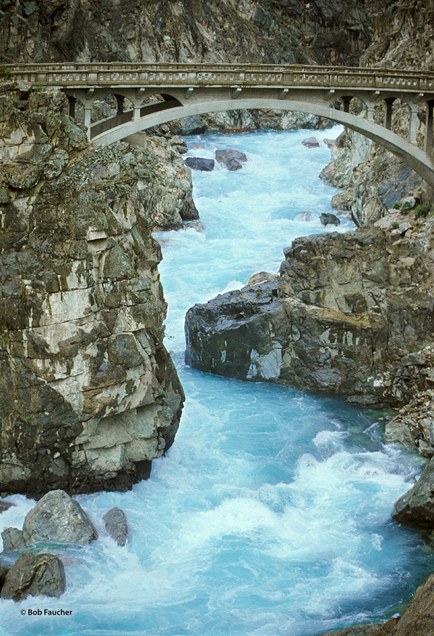 Chelan Falls,bridge,cascade, photo