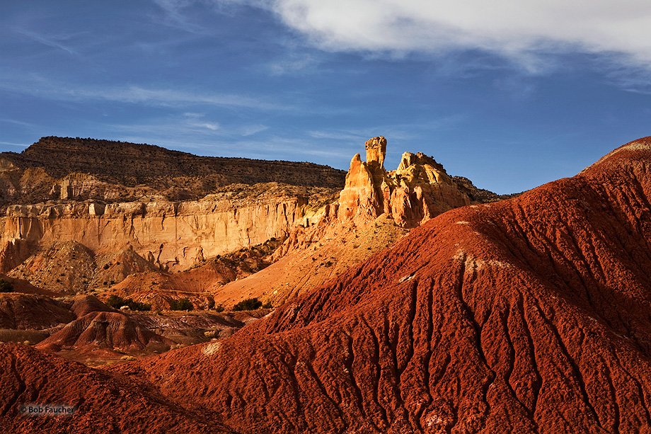 New Mexico,Ghost Ranch,Chimney Rock, photo