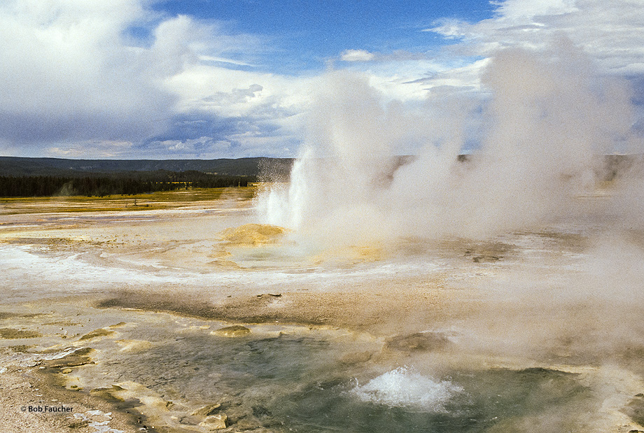 geyser,lower geyser basin,Clepsydra, photo