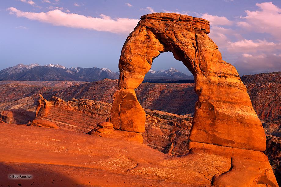 Delicate Arch,Arches NP,Manti-La Sal, photo