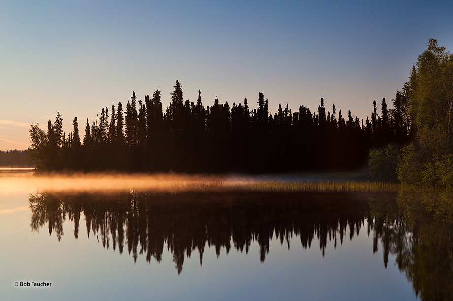 Sunrise,Dolly Varden Lake,Swanson River Road,Kenai National Wildlife Refuge,Kenai Peninsula,Alaska, photo
