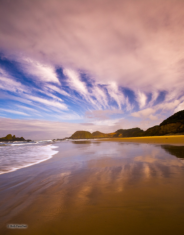 Oregon,coast,surf,clouds,Seal Rocks,reflections, photo