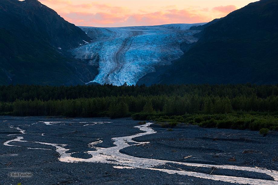 Exit Glacier,Resurrection River,Kenai,Fjords NP,Seward,Alaska, photo