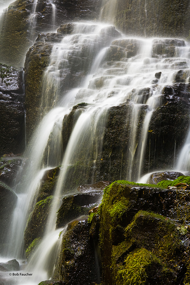 Fairy Falls is a 20-foot waterfall on the Oregon side of the Columbia River Gorge. This fan-shaped waterfall cascades through...