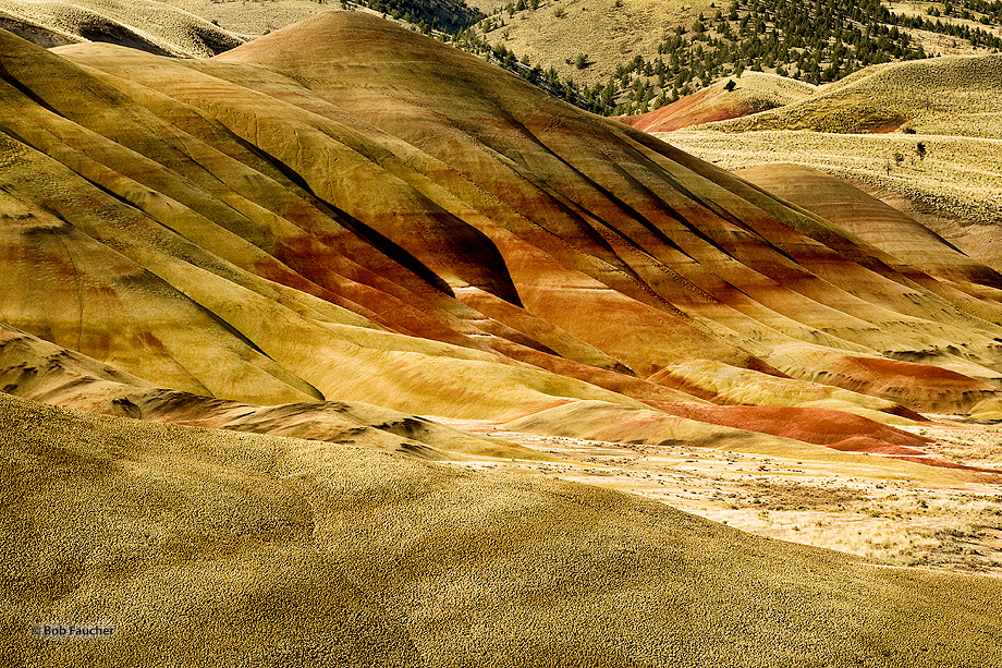 Painted Hills,Oregon,clouds,sunrise, photo