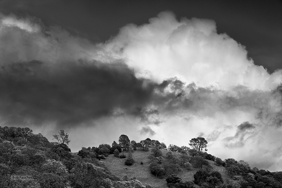 High Valley,thunder clouds, photo
