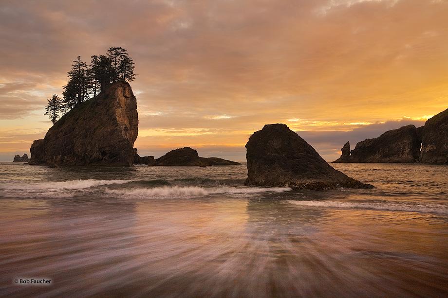 Second Beach,sunset, photo