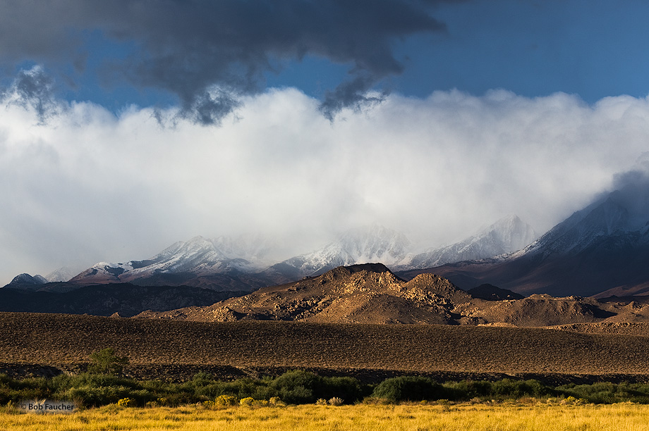 Owens Valley,morning,Sierra mountains, photo