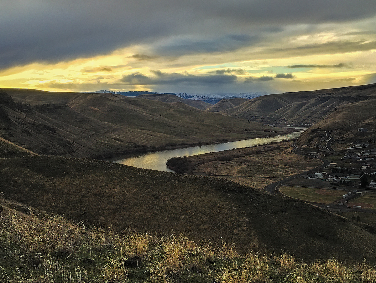 Hell's Gate SP, Snake River, Sunrise, photo