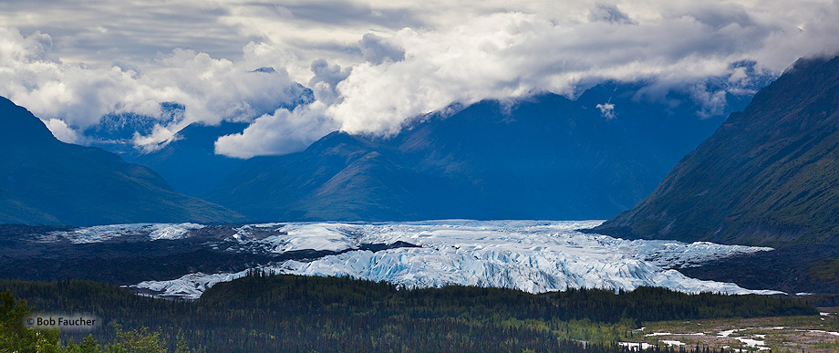 Matanuska Glacier,Chugach Mountains,Glenn Hiway,Alaska, photo