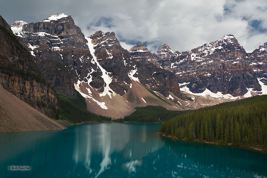 Moraine Lake, Banff NP, Alberta, photo