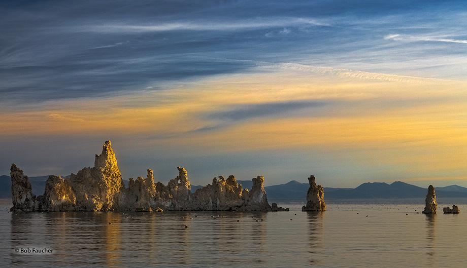Mono Lake,sunrise,tufa, photo