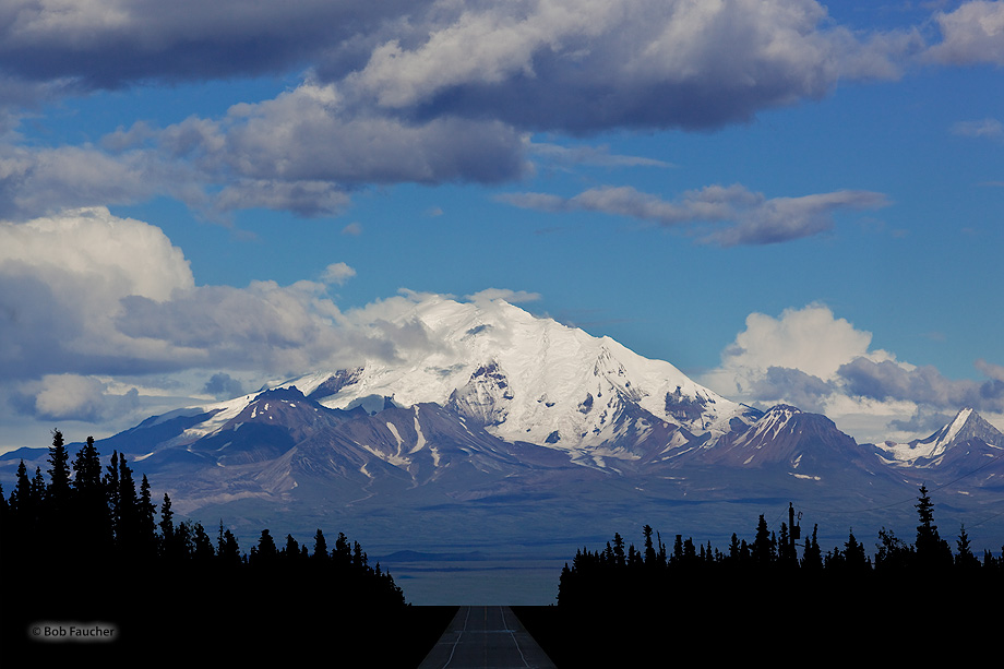 Mt. Drum,Wrangell-St. Elias NP,Glenn Hiway,Alaska, photo