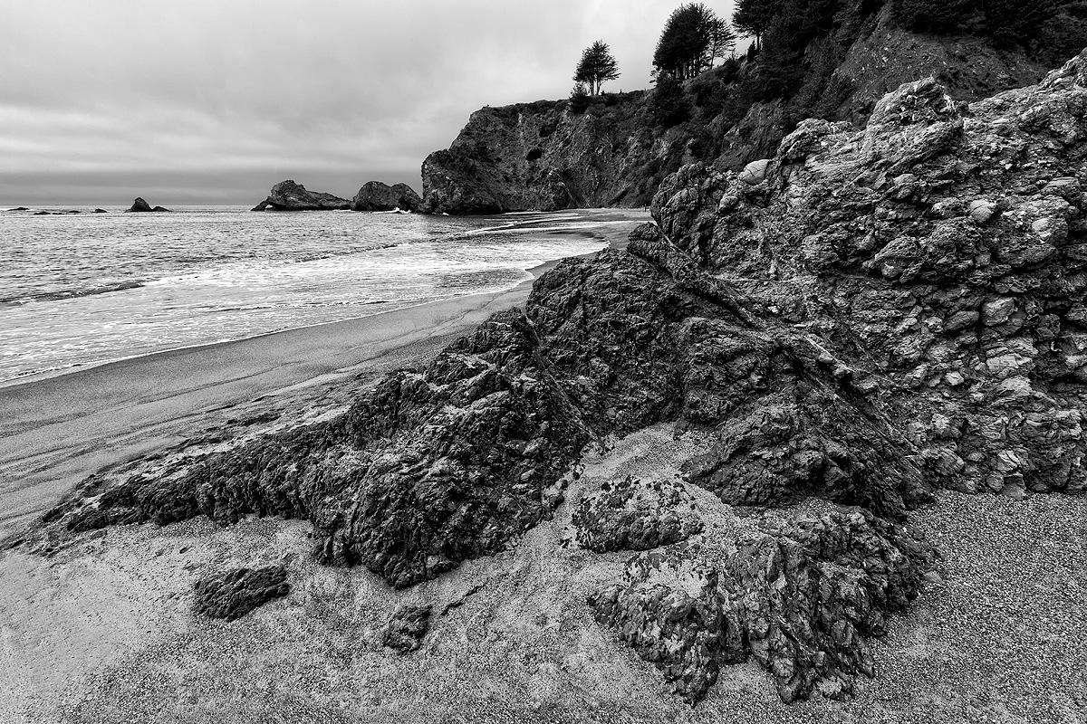 Navarro Beach,morning,clouds, photo