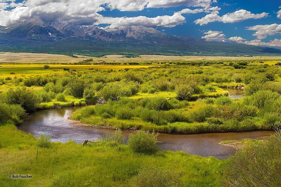 Encircled by mountain ranges, North Park, near Walden Colorado, is a secluded and pristine region.