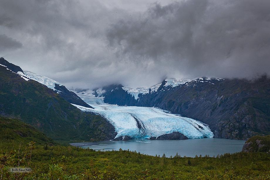 Portage Glacier,Lake,iceberg,Whittier,Alaska, photo