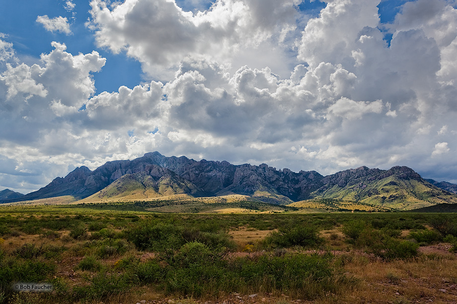 Chiricahua Mountains,Portal Peak,clouds,desert, photo