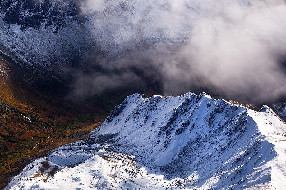 Mt. Denali,aerial view,Denali NP,Alaska, photo
