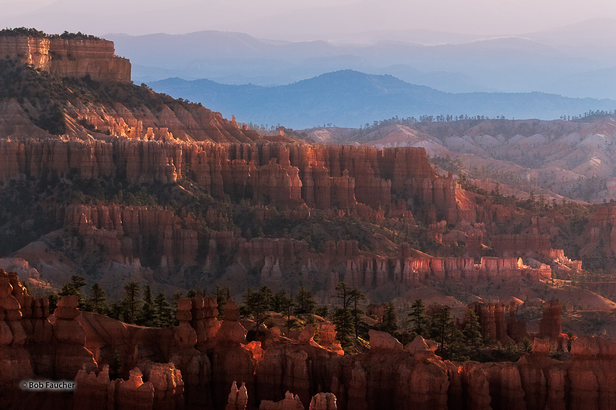 Chinese Wall, Bryce Canyon, Sunset Point, hoodoo, Bryce Amphitheater, photo