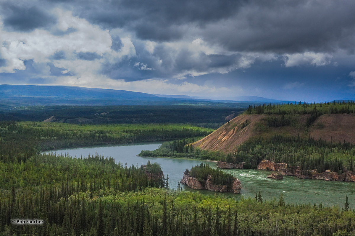 """Described by Jack London in """"Call of the Wild,"""" this stretch of the Yukon River was particularly difficult for gold seekers to..."""