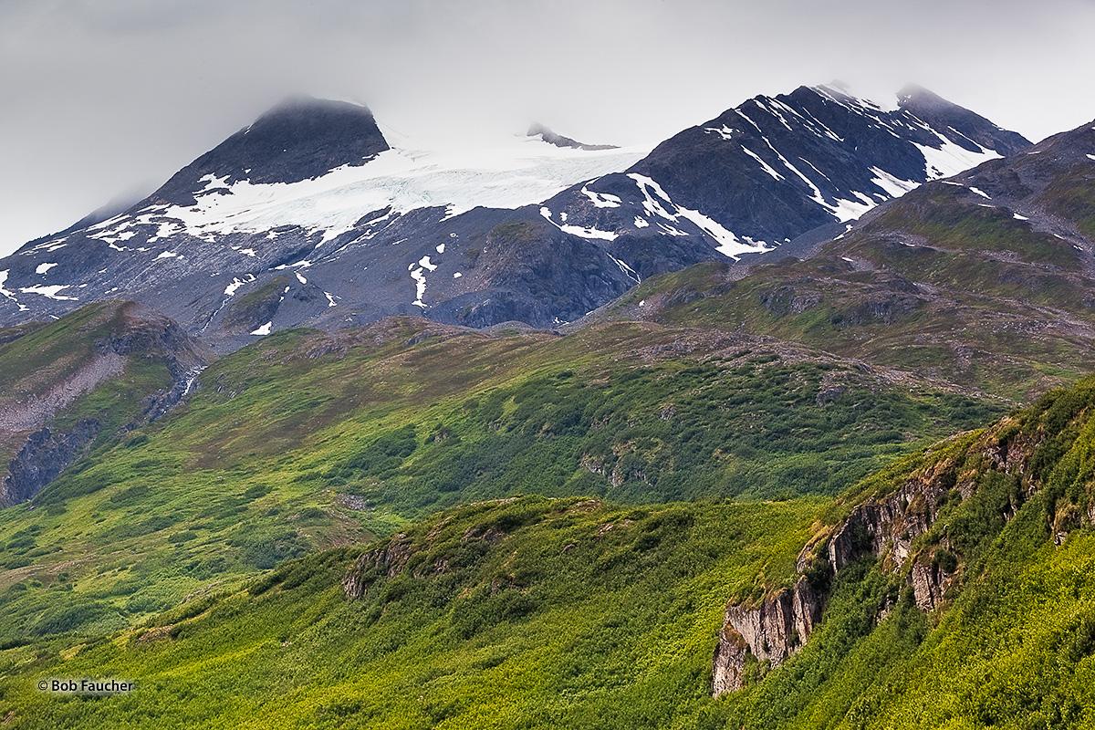 Worthington Glacier, Richardson Hiway, Valdez, Alaska, photo