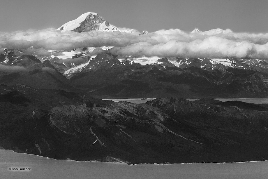Mt. Iliamna,Chinitna Bay,Cook Inlet,Alaska Peninsula, photo