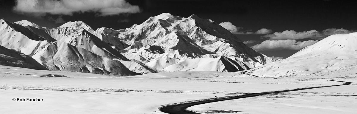 Muldrow Glacier, Mt. Denali, Park Road, Denali NP, Alaska, photo