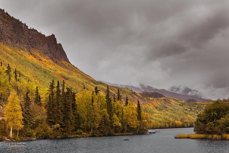 Chickaloon River,Alaskan Hiway,Glenn Hiway,Alaska, photo