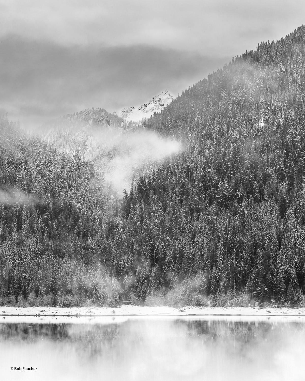 Baker Lake, Anderson Butte, photo