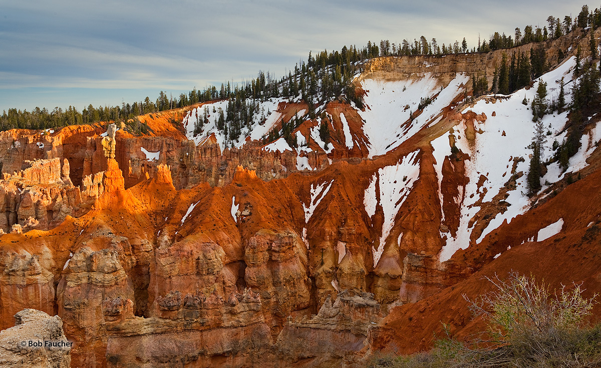 Bryce Canyon NP, Ponderosa Canyon Overlook, photo