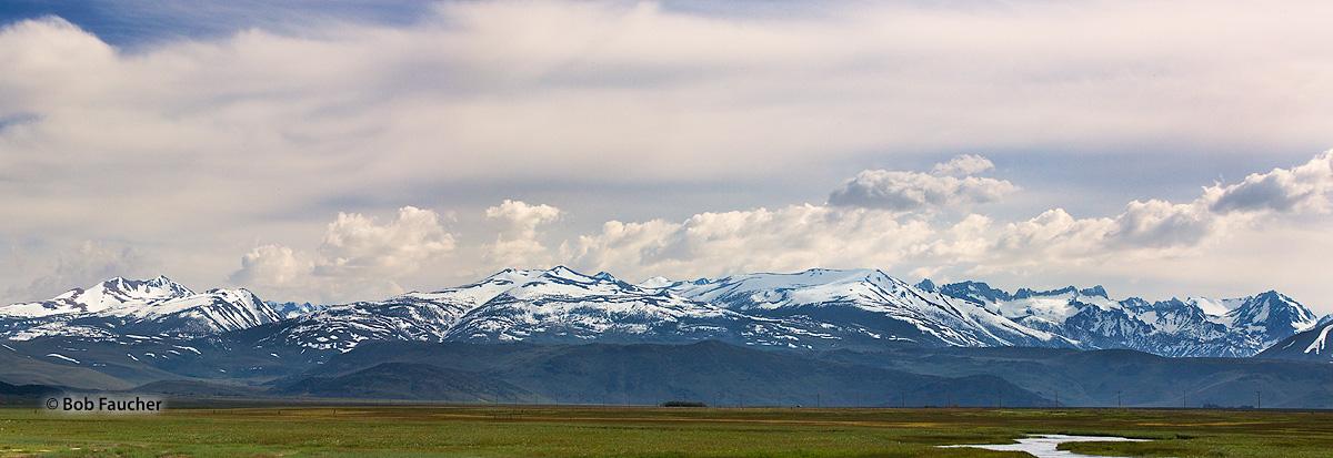 Bridgeport Valley, East Walker River, Walker Mountain, Eagle Peak, Twin Peaks, photo