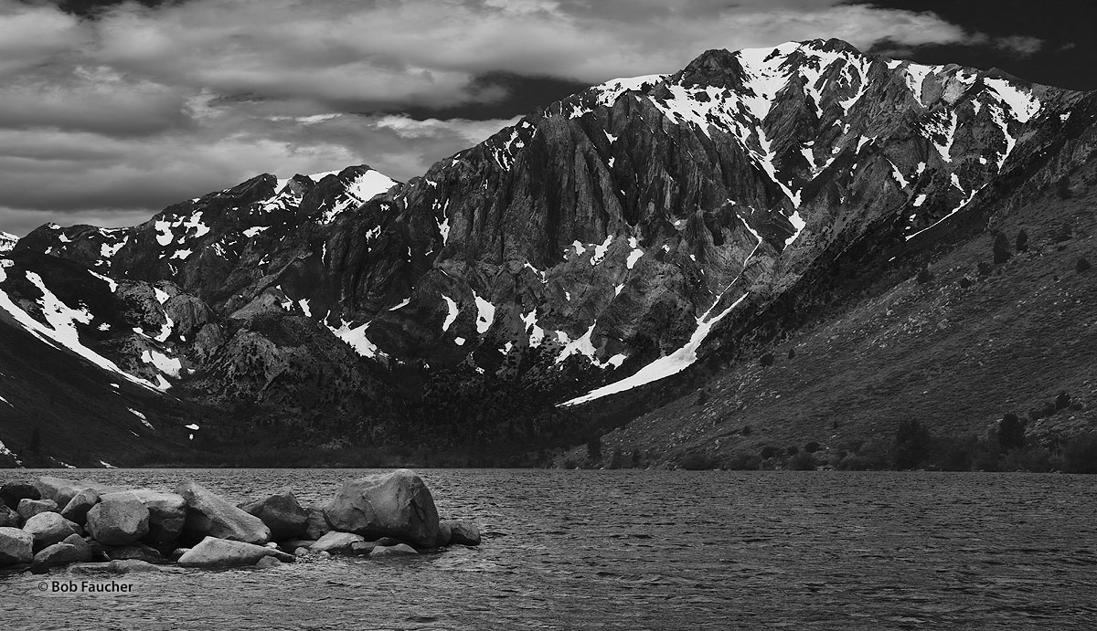 Convict Lake, Laurel Mountain, Mount Morrison, photo