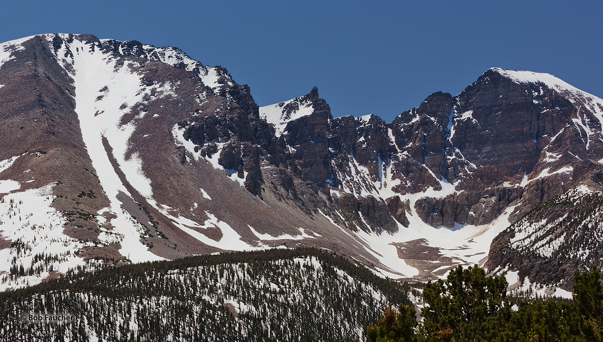 Great Basin NP, Jeff Davis Peak, Pinnacle Peak, Wheeler Peak, photo