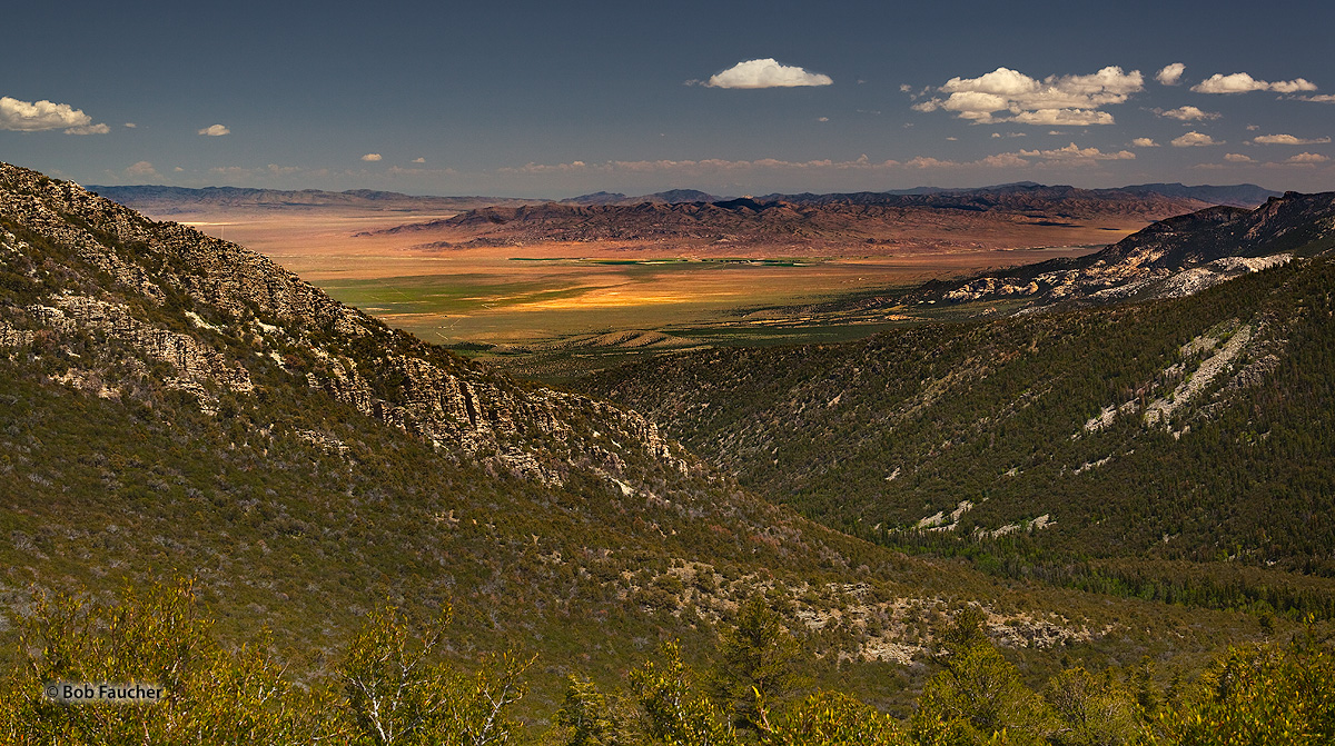Snake Valley, Great Basin NP, Burbank Hills, photo