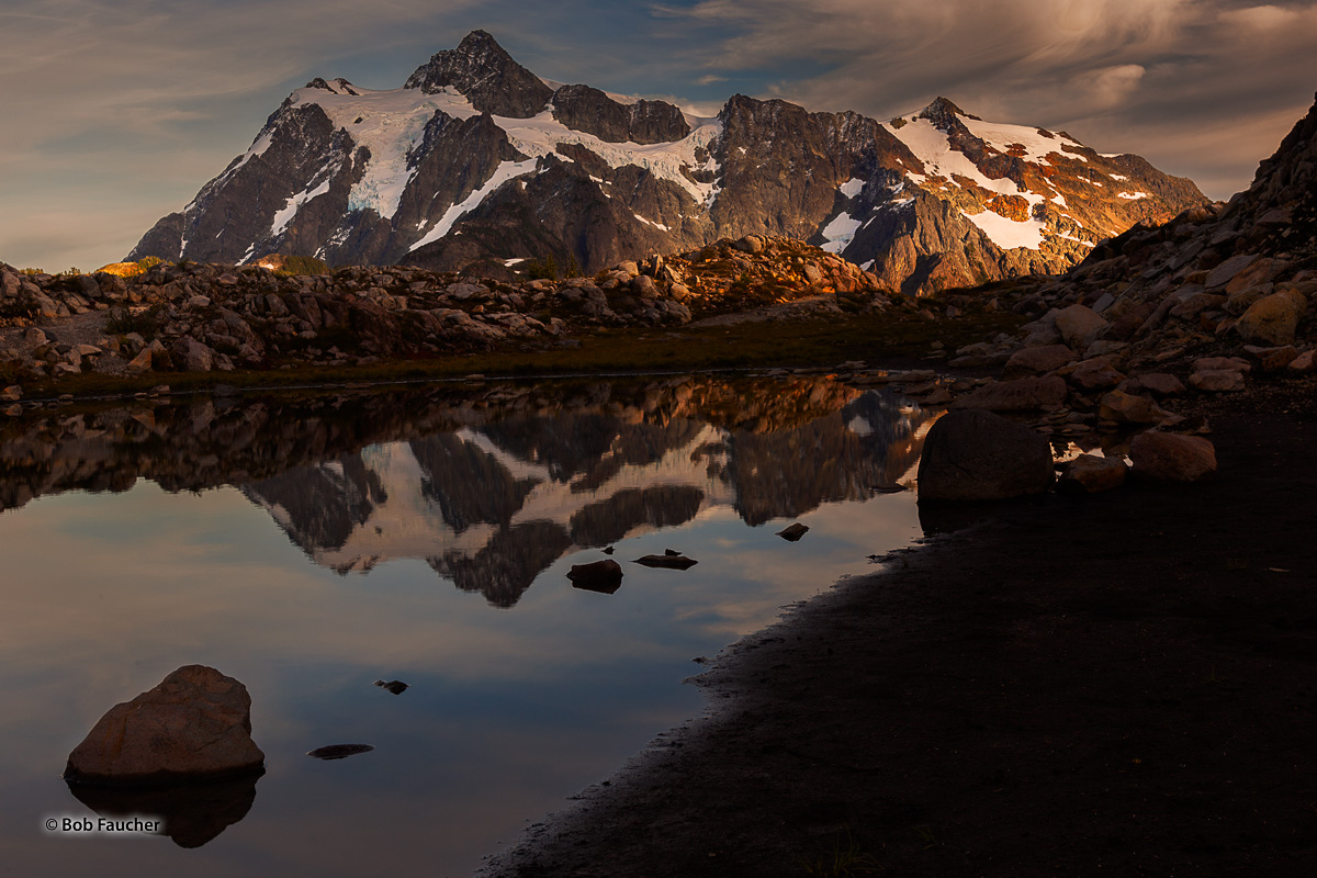 Mt. Baker-Snoqualmie NF; Mt. Shuksun; Artist's Point, photo