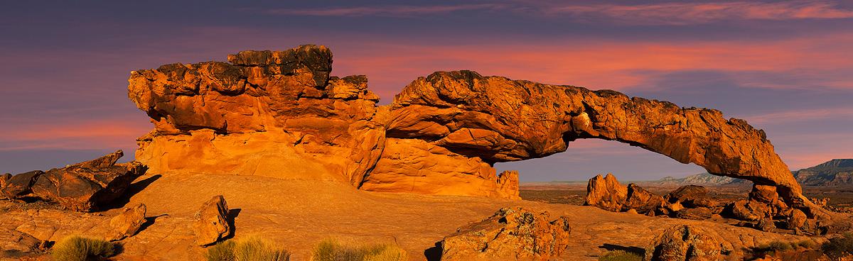 Sunset Arch, photo